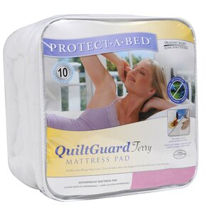 Guard Fitted Hypoallergenic Waterproof Mattress Protector by Protect-A-Bed