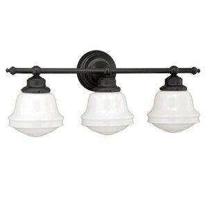 Bathroom Lighting Fixtures Usa oil rubbed bronze bathroom vanity lighting | wayfair