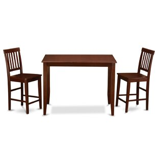 3 Piece Dining Set by Wooden Importers