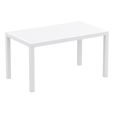 Melissus Rectangular Plastic 29.5 Inch Dining Table by Mercury Row 2020 Coupon