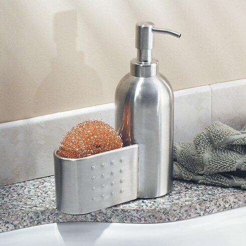 Pump And Sponge Caddy Soap Dispenser