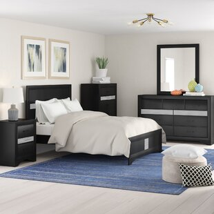 Geist Panel 4 Piece Bedroom Set