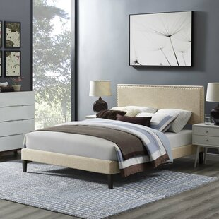 Hervey Upholstered Platform Bed by Charlton Home