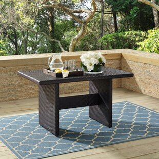 Keyshawn Folding Wicker Coffee Table