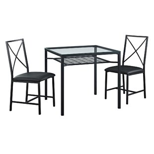 Berryhill 3 Piece Dining Set
