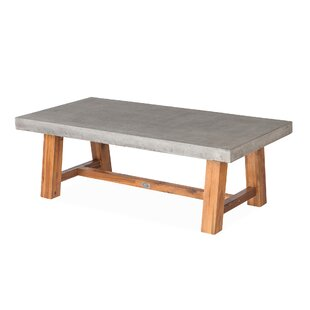 Foundry Select Colegrove Concrete Coffee Table