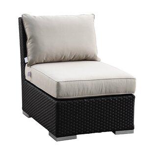 Aramingo Armless Club With Cushions by Wrought Studio Bargain