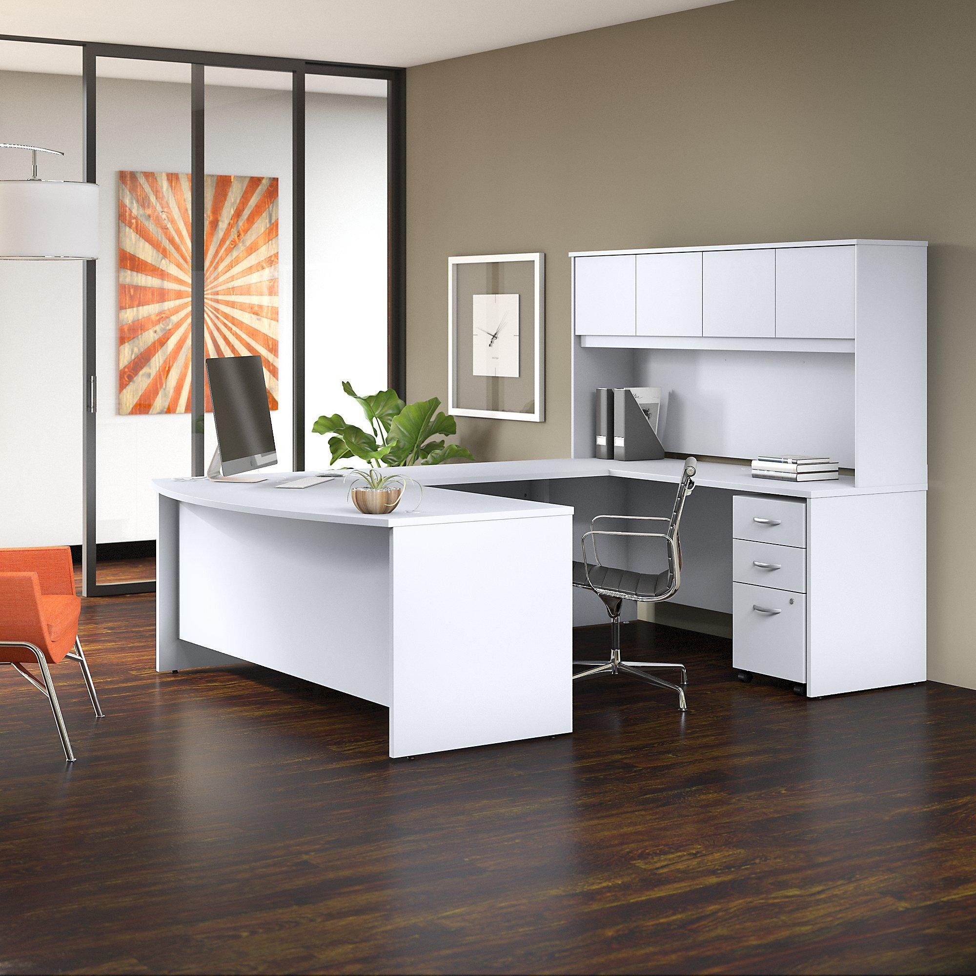 U Shape White Office Furniture Sets You Ll Love In 2021 Wayfair