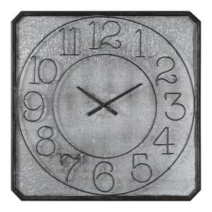 oversized square wall clock