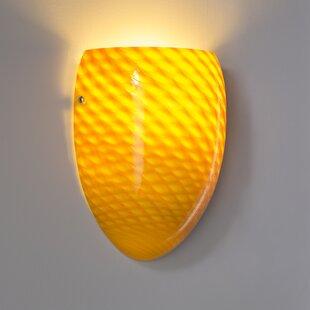Best Price Burham 1-Light Wall Sconce By Latitude Run