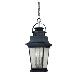 Inexpensive Covarrubias 3-Light Outdoor Hanging Lantern By Darby Home Co