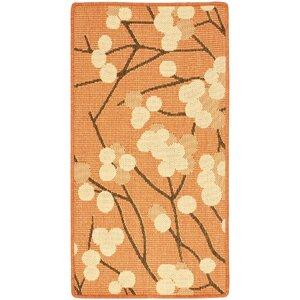 Short Terra Woven Natural / Brown Contemporary Rug