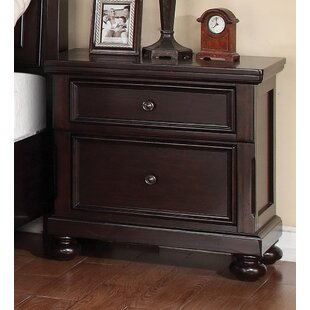 Canora Grey McMullen 2 Drawer Nightstand
