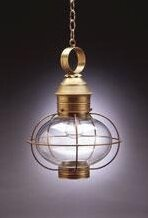 Northeast Lantern Onion 1-Light Outdoor Hanging Lantern