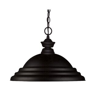 Bexton 1-Light Bowl Pendant by Fleur De Lis Living