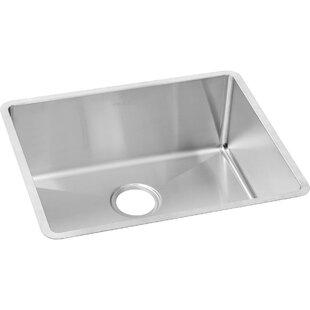 Crosstown 23 L x 19 W Undermount Kitchen Sink by Elkay