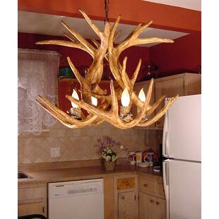 Loon Peak Attwood Antler Whitetail 4-Light We have associated to option Chandelier