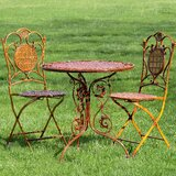 Rueben 3 Piece Bistro Set