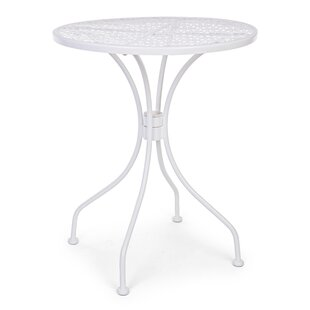Case Steel Bistro Table By World Menagerie