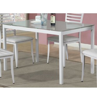 Latitude Run Blagojevic Modern Dining Table