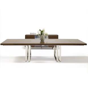 Greta Extendable Dining Table Wrought Studio