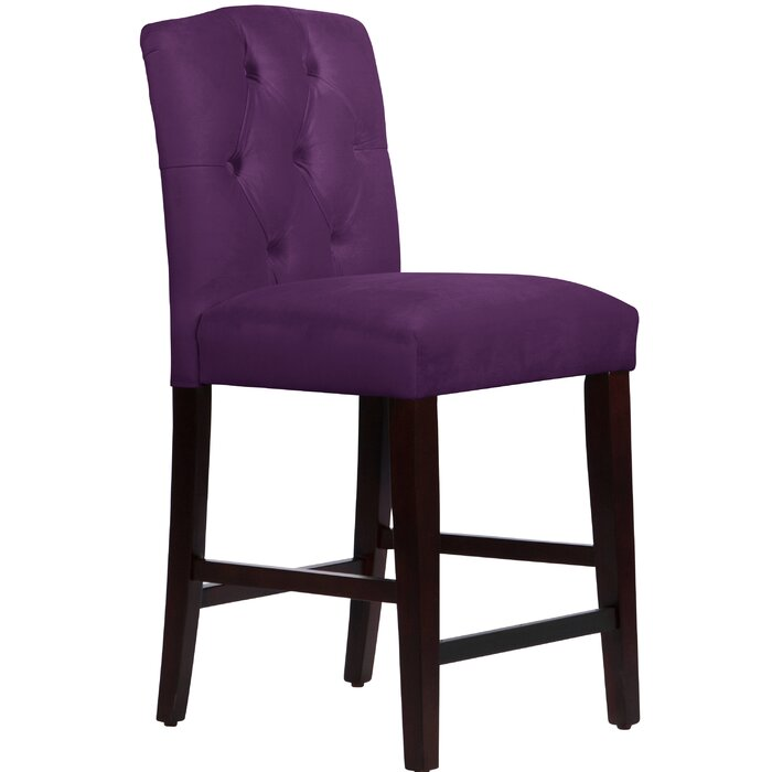 Superb Cyrus Tufted Bar Stool Dailytribune Chair Design For Home Dailytribuneorg
