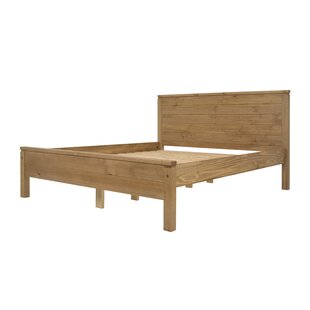 Augustus Kingsize Solid Wood Bed By Gracie Oaks