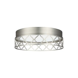 Mercer41 Evesham 1-Light Flush Mount