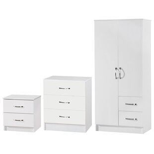 Chaz 3 Piece Bedroom Set By 17 Stories