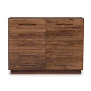 Moduluxe 10 Drawer Double Dresser