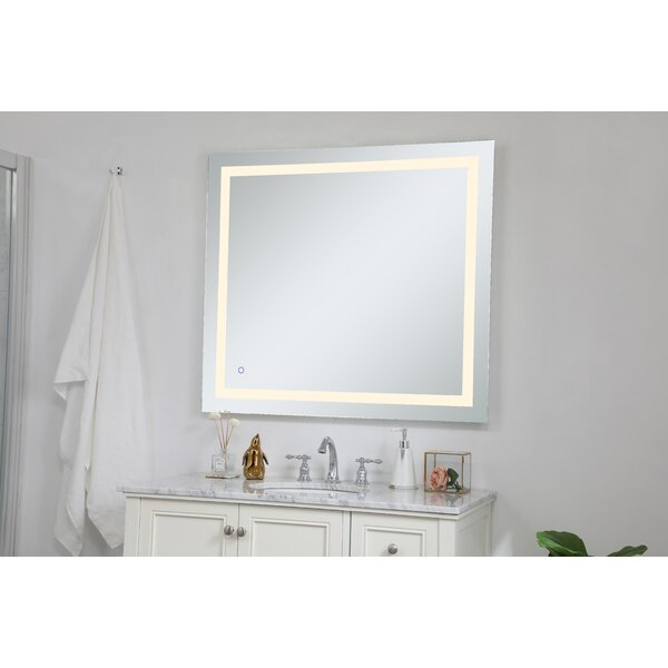 Frosted Mirror Wayfair