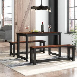 Beau Mcanulty 3 Piece Dining Set