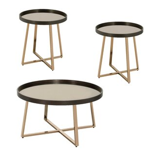 Florenza 3 Piece Coffee Table Set By Wrought Studio