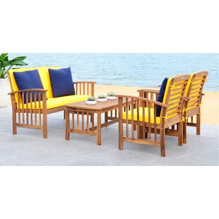 Simmons 4 Piece Sofa Seating Group with Cushions Online