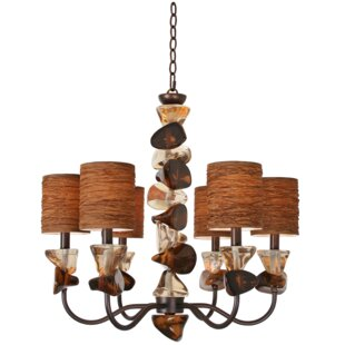 Van Teal Night Life 6-Light Shaded Chandelier