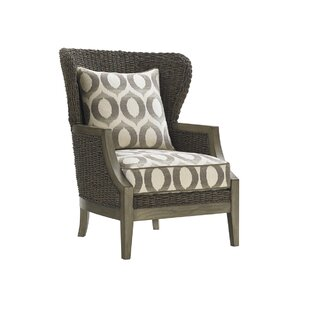 Oyster Bay Wingback Chair by L..