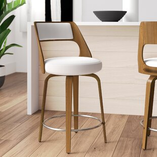 Adelyn 24.5 Swivel Bar Stool by Wade Logan