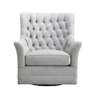 Donita Swivel Armchair by Canora Grey