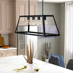 Union Rustic Murray 4-Light Kitchen Island Pendant