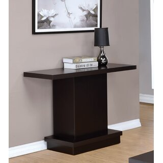 "Domonic 40"" Console Table by Latitude Run SKU:ED399617 Details"