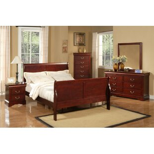 Hutcheson Sleigh Configurable Bedroom Set by Three Posts