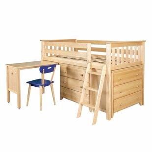 Crump Twin Low Loft Bedroom Set