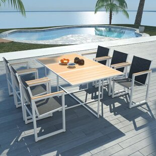 7 Piece Dining Set by Latitude Run