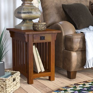Brockton End Table With Storage by Loon Peak