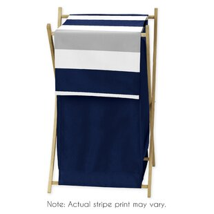 Sweet Jojo Designs Stripe Laundry Hamper