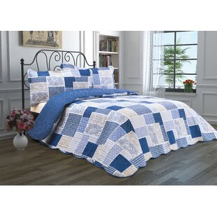 Winona Patchwork Reversible Quilt Set