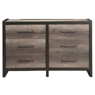 Best Deals Boveney 6 Drawer Double Dresser by Foundry Select
