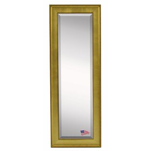 Wrought Studio Dalessio Vintage Gold Floor/Wall Mirror
