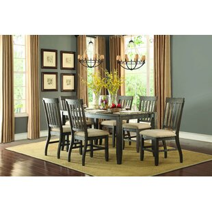 Kyla 7 Piece Dining Set by Loon Peak