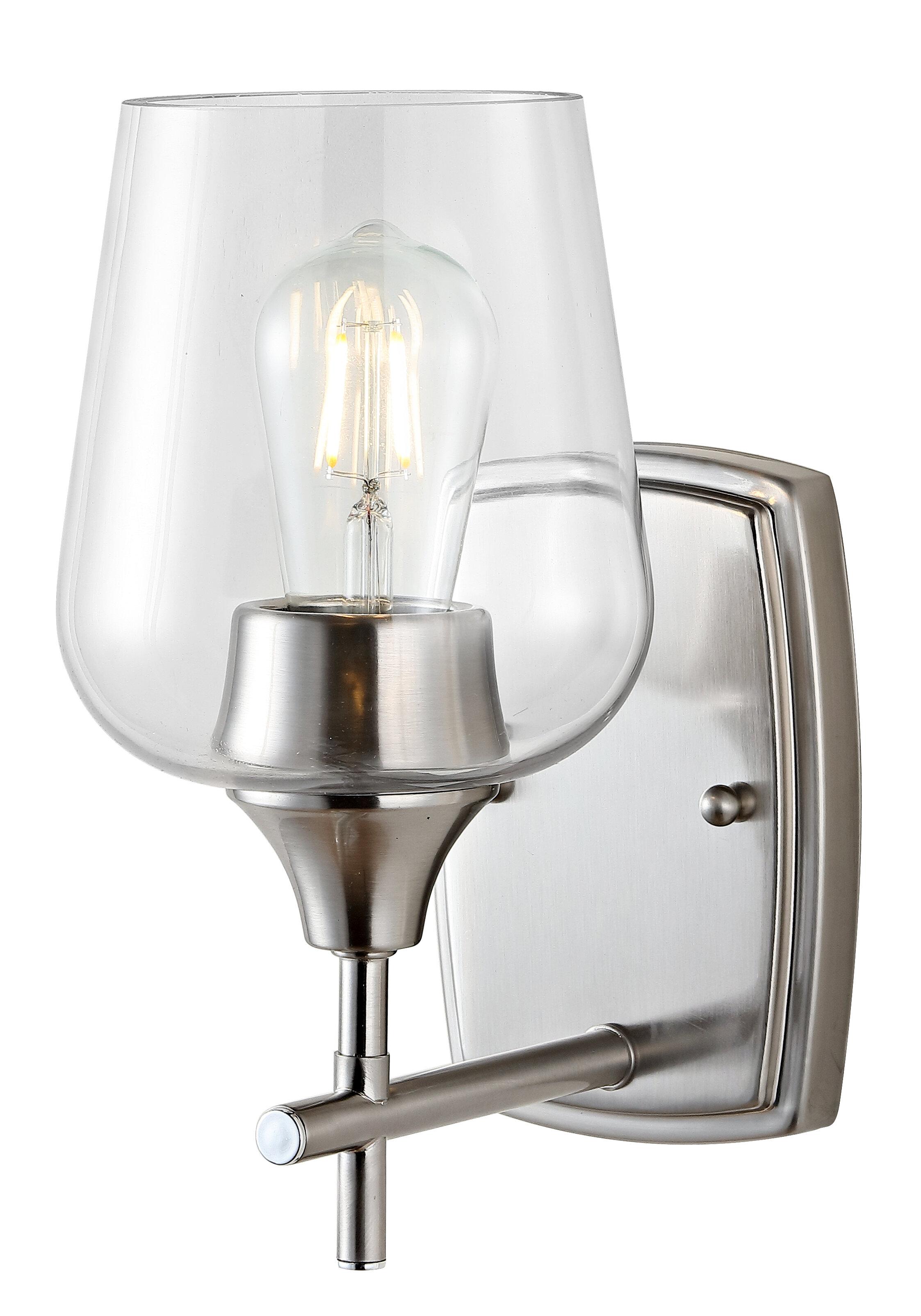 Ebern Designs Cornlea 1 Light Armed Sconce Wayfair
